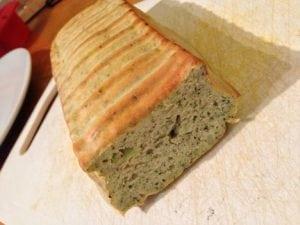 pâine din brocoli