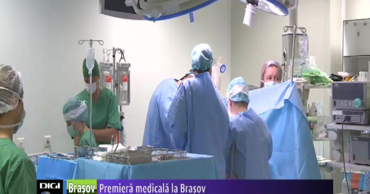 Premieră medicală: Operații cu jet de apă