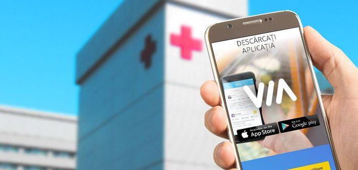 VIA - aplicaţia mobilă pentru a conecta tinerii bolnavi de cancer din România