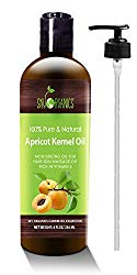 Apricot Kernel Oil by Sky Organics - 100% Pure, Natural & Cold-Pressed Apricot Oil
