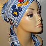 Mickey Mouse PreTied Scarf Chemo Hat Alopecia Head Cover Cancer Scarf