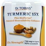 Turmeric Curcumin - 15x Strength: 750 mg per Capsule of 95% Curcuminoids Plus Bioperine - 120 Capsules